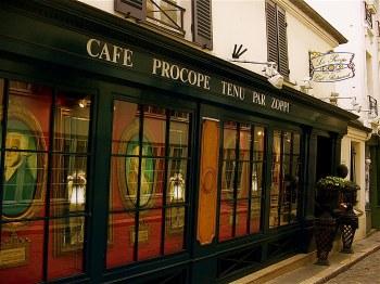 procope, primo caffè dove si sia venduto gelato