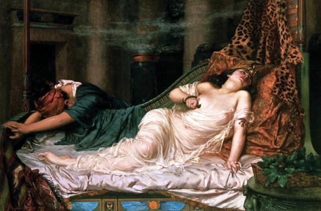 suicide cleopatra