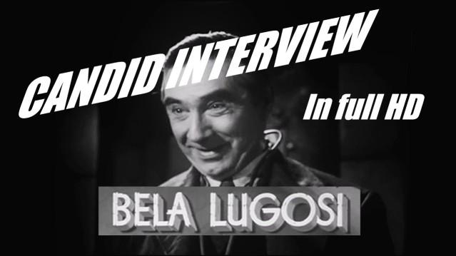 Bela Lugosi Dracula candid camera