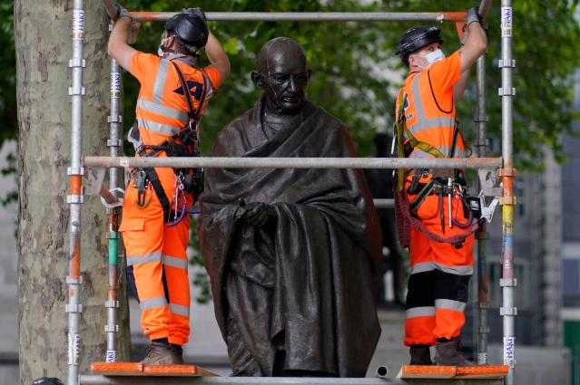 statua gandhi