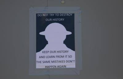 londra statue memoria storia
