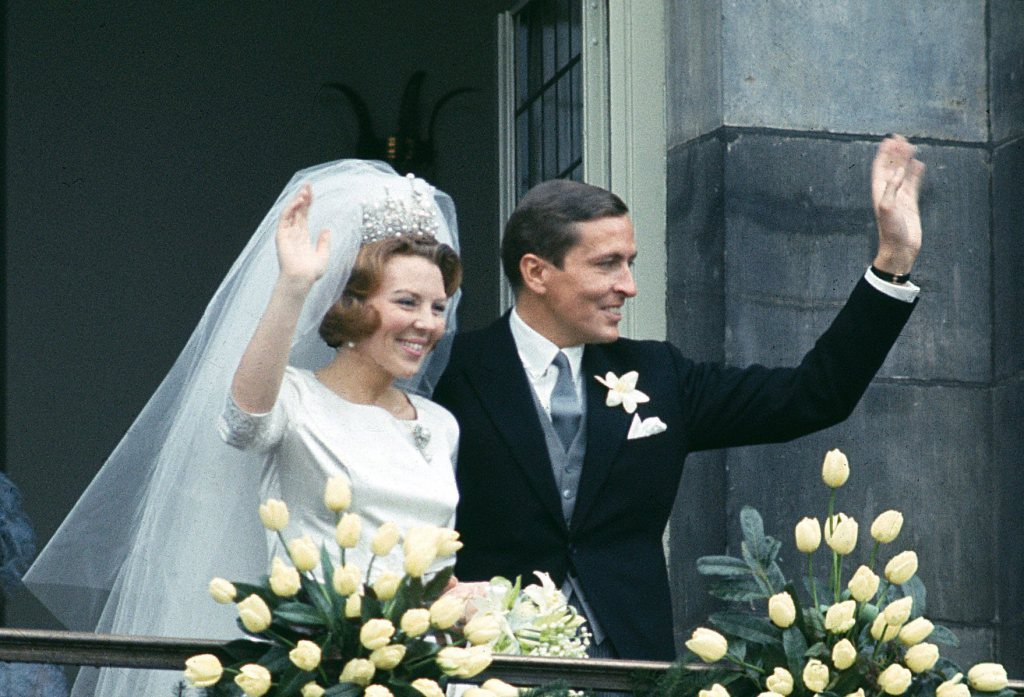 matrimonio reale amsterdam 1966 provo
