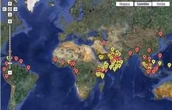 mappa pirateria