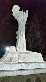 Monte Cassino - Maggio 1944 c'erano anche i polacchi tra le forze alleate contro i tedeschi durante la Seconda Guerra Mondiale (febbraio 2016 credits StereoType Mag)