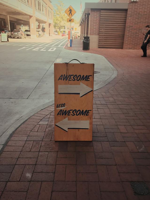 awesome less awesome