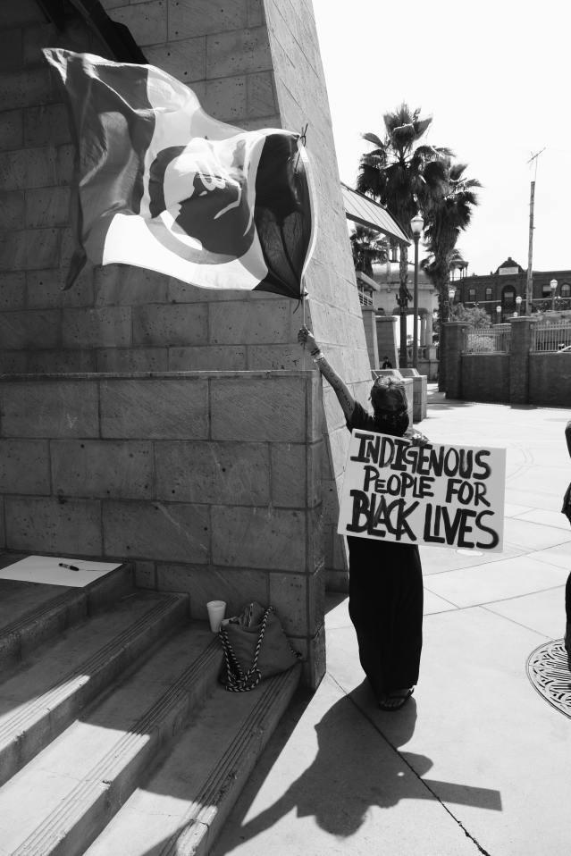 indigenous people black lives matter